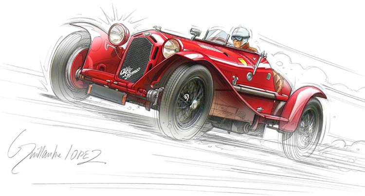 Artistes dessinateurs page 19 - Dessin vieille voiture ...